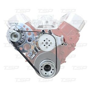 Tsp Ds45404 Big Block Chevy Gilmer Pulley Kit High Mount Alternator