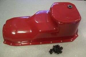 Good 1963 1964 Oldsmobile 394 Rocket V8 Oil Pan W bolts 88 98 Starchief Jetstar