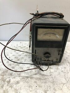 Vintage Hp Hewlett Packard 412a Vacuum Tube Voltmeter Vtvm Test Equipment