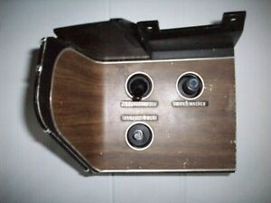 1970 Dodge Challenger plymouth Barracuda Rally Dash Switch Panel