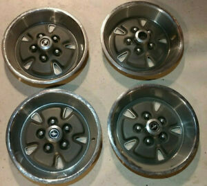 1970 1971 Ford Mustang Mach 1 Doza 1130 e 14in Hubcaps Wheel Covers