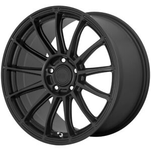 4 New 18x8 5 Motegi Cs13 Satin Black 5x108 Mr14888545742