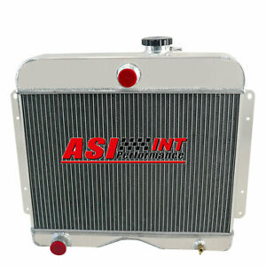 4 Row Aluminum Radiator For 1946 1964 Jeep Willys Truck station Wagon Pickup I4
