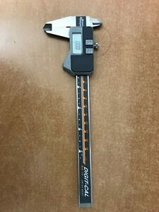Brown Sharpe Digital Caliper 0 To 6 In Range