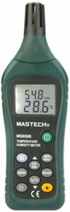 Digital Humidity And Temperature Meter Ms6508 Handheld Thermometer Usa