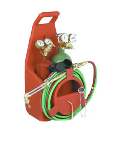 Chicago Electric Portable Torch Kit With Oxygen And Acetylene Tanks