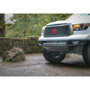 N fab M rds Prerunner Front Bumper W light Mount Txtrd For Toyota Tundra 07 13