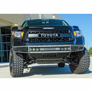 N fab M rds Prerunner Front Bumper W light Mount Txtrd For Toyota Tundra 14 20