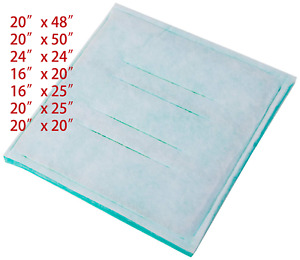 Paint Spray Booth Intake Filter Dry Tack Panel 7 Size Available Series 45