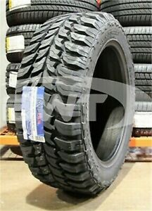 4 New 35x12 50 22 Roadone Cavalry M T 121q 12 50r R22 Mud Tires