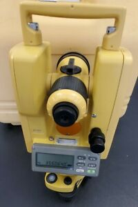 Topcon Dt 207 Theodolite For Survey construction Dt 207