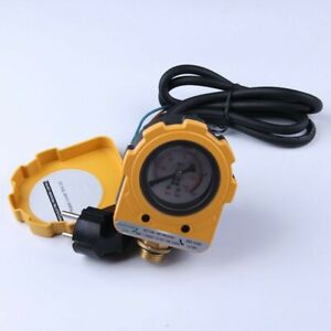 Water Pump Pressure Controller 10bar Automatic Pressure Electronic Switch Gauge