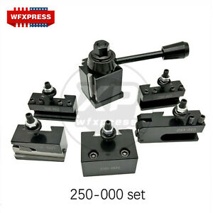Oxa Wedge Type 250 000 fx250 000 Tool Post Set For Mini Lathe Up To 8