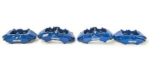Ferrari F430 Cc Brembo Brake Caliper Set Carbon Ceramic Blue 228000_00