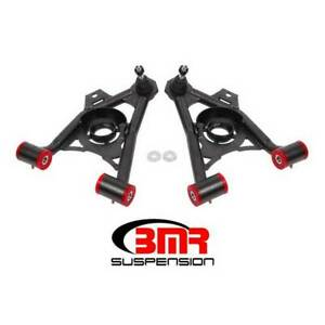 Bmr Lower Non adjustable A arms Polyurethane Black For Ford Mustang 1994 2004
