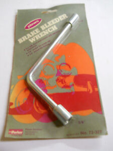Plews Tools 5 16 3 8 Combination Hex Brake Bleeder Wrench Made In Usa