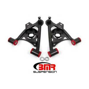 Bmr Lower Non adjustable A arms Polyurethane Black For Ford Mustang 1979 1993