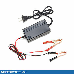 3pcs ATV 12V Portable Multimode Battery Charger Motorcycle Car Maintainer
