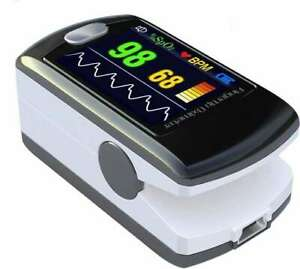 Contec Multi color Oled Rechargeable Fingertip Pulse Oximeter Usb Cd rom