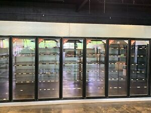 Large Walk In Modular Commercial Refrigeration Cooler Units With Beer Tap