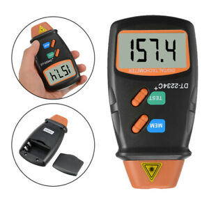 Dt2234c Digital Laser Rev Counter Meter Non Contact Tachometer Rev Counter Tool