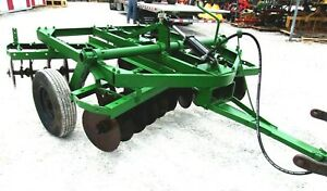 Used 8 Ft Oliver Wheel Type Disc Harrow free 1000 Mile Shipping From Ky