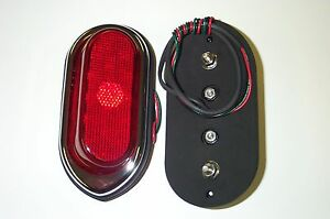 1940 Chevrolet Led Tail Lights Hot Rod 1 Motorcycle Or Third Brake Light Usa