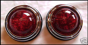 1950 S Pontiac Vintage Style Led Tail Lights Stop Tail Turn Hot Rod Rat Rod