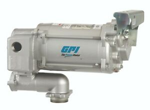 Gpi Fuel Transfer Pump 30 Gpm 115v Ac M 3130 po Pump Only With Tank Adapter