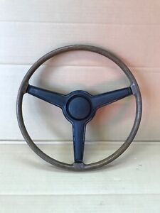1970 1974 Challenger Barracuda Cuda Steering Wood Grain Wheel Dodge Chrysler