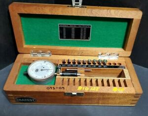 Diatest Dial Bore Gage Set 0 165 To 0 394 E2 Small Machinist Metrology Gauge