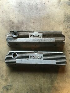 Holley Ford 289 302 Vintage Original 140r 55b Valve Covers