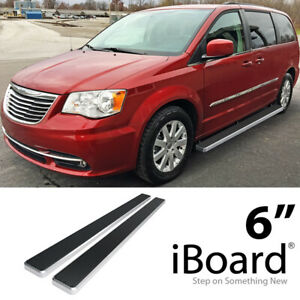 Iboard Running Boards 6 Inches Fit 11 20 Dodge Grand Caravan