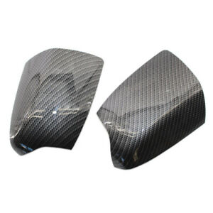 Wing Door Mirror Cover Replacement Carbon Fiber Style For Ford Focus 05 2008 Cap