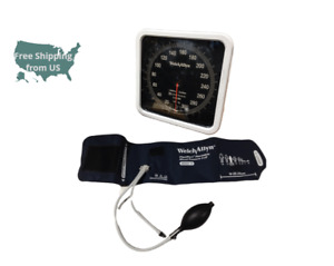 Welch Allyn Wall Aneroid With Flexiport Cuff