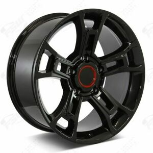 20 Or Pro Style Gloss Black Wheels Fits Toyota Tundra Sequoia Land Cruiser