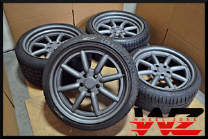 19 Rotiform Mlw 2 piece Forged Staggered 5x112 Anthracite Wheels Rims Tires