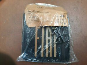 Fiat 125 Mudflaps Rear Gev Original New