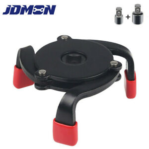 Oil Filter Wrench Adjustable Universal 3 Jaw Remover Socket Tool 60mm 95mm