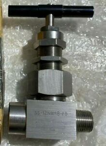 Whitey Swagelok Stainless Steel Union Needle Valve Ss 12pdm8 f8