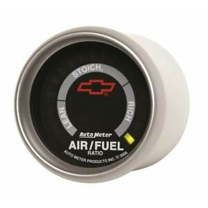 Autometer Gm Black 2 1 16 Narrowband Air fuel Ratio Lean rich Gauge
