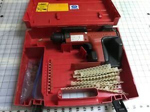 Hilti Dx35 Powder Actuated Nail Gun In Case And Extras