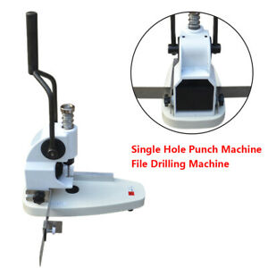 Qy t30 Single Hole Punch Machine File Drill Machine For Album paper tags invoice