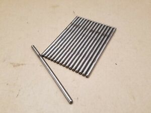 High Performance Hardened Pushrods 5 16 X 6 500 105 Wall Set 16 Ford 302 347
