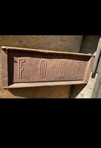 Vintage Ford Pickup Tailgate 1950 S 1960 S