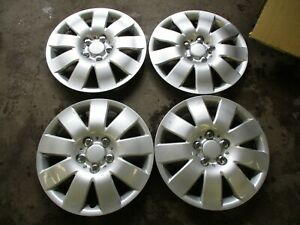 New 2003 2004 Toyota Corolla Look 15 Hubcaps Set Of 4 Aftermarket