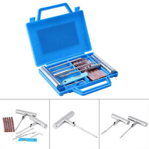 11 X Heavy Duty Tire Repair Kit For Car Motorcycle Truck Plug Tyre Mending Tool