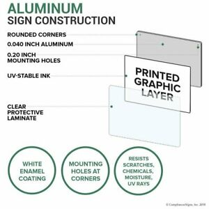 Compliancesigns Vertical Aluminum Halon Fire Extinguisher Use On Electrical