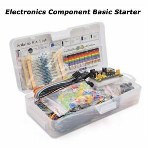 Electronics Component Power Supply 830 Tie points Breadboard Basic Starter Kit