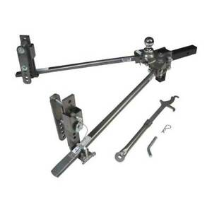 Husky Towing Center Line Weight Distribution Hitch Round Bar 6000 Lbs 2 Ball